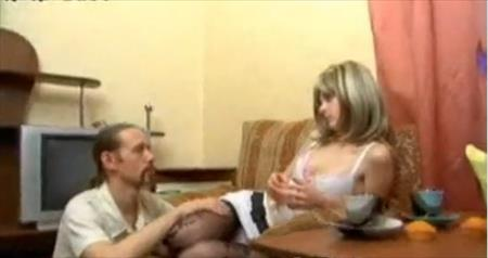 Skinny Old Man vs Young Girl Fucked! - Skinny partners old man vs young girl having sex in homemade. Skinny young girl looked like doll face giving blowjob to his sex partner after man licking her whole body and pussy,and then they fucked ..